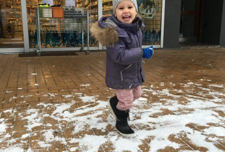 Selvom man er immunsvag, så skal man da lige have lov at hvine over sneen