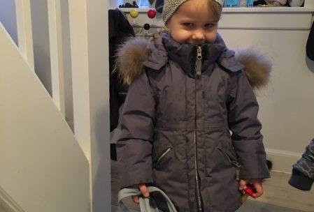 Men så kom dagen - med en uges forsinkelse startede Mulle i børnehave